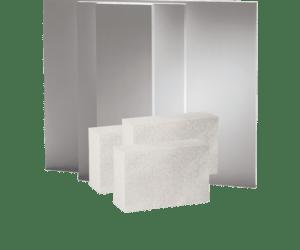 SkamoWall, Multipor & andre byggematerialer